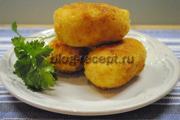 картофельные котлеты рецепт с фото пошагово