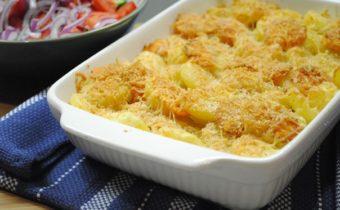 Картофельная запеканка с фаршем в духовке: рецепты с фото пошагово
