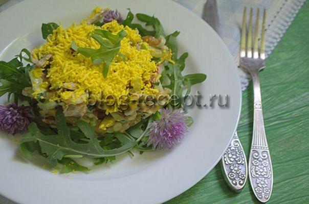 салат из говядины: рецепт с фото очень вкусный