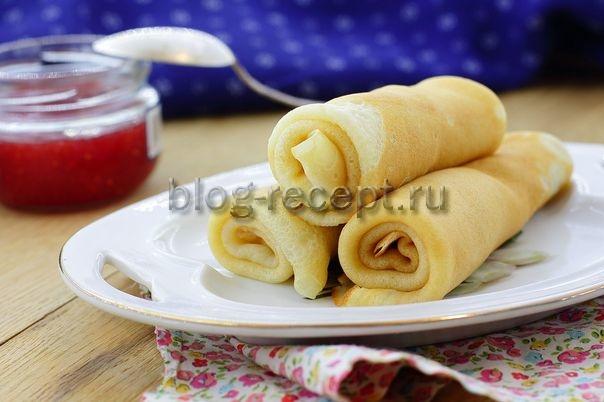 Блинчики на молоке тонкие рецепт с фото пошагово