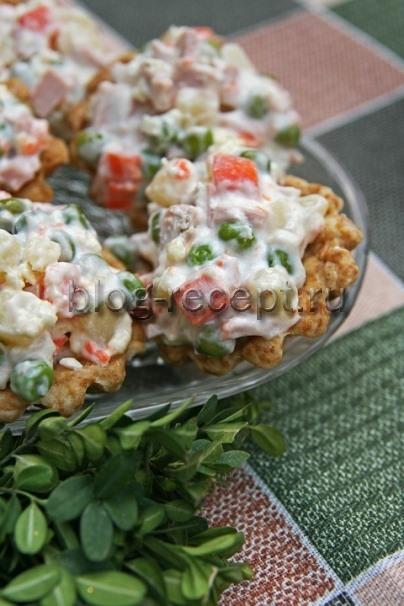 салат столичный с курицей классический рецепт