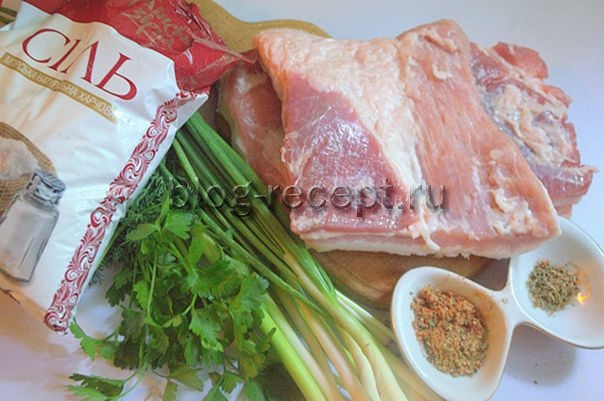 как засолить свиную грудинку вкусное чтобы во рту таяло