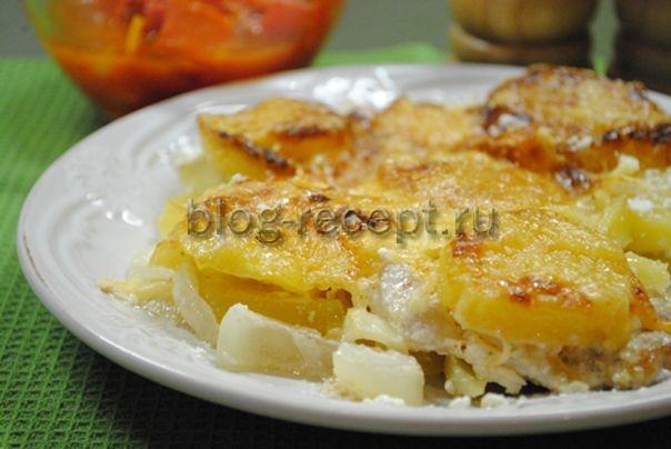 мясо по французски с картофелем в духовке рецепт с фото