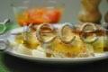 мясо по французски из свининый с картофелем в духовке рецепт с фото