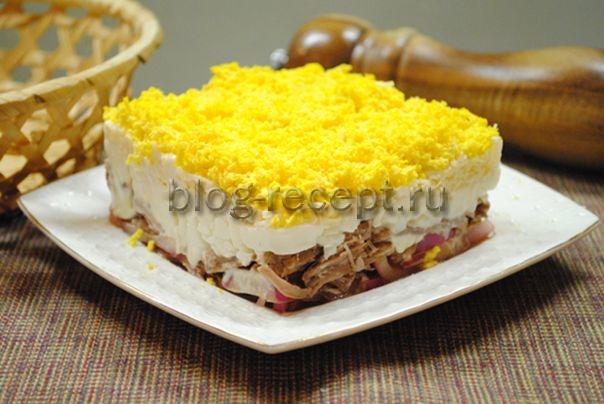 салат мужские грезы рецепт с фото пошагово