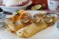 блинчики с творогом рецепт с фото пошагово