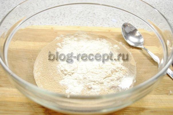 Рецепт теста на быстродействующих дрожжах для жареных пирожков