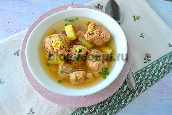 как приготовить суп с фрикадельками пошаговый рецепт с фото