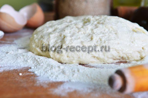 тесто для пирожков жареных
