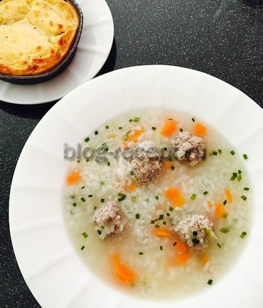 суп с фрикадельками рецепт из свиного фарша