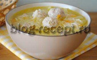 суп с фрикадельками с вермишелью пошаговый рецепт с фото