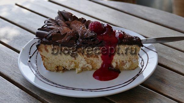 рецепт шоколадного чизкейка в домашних условиях с фото пошагово