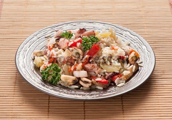 рис по-японски с морепродуктами