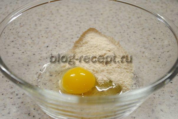как сделать кляр для мяса с мукой и яйцом