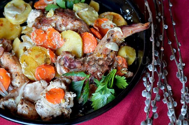Кролик рецепты приготовления пошаговые 74