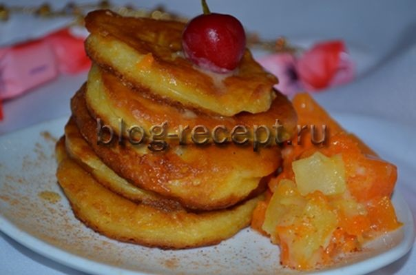 Вкусные оладушки на кефире - рецепт пошаговый с фото