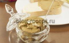 паштет из говяжьей печени в домашних условиях рецепт