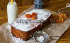 рождественский кекс с орехами и сухофруктами