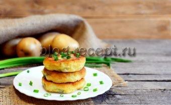 биточки картофельные