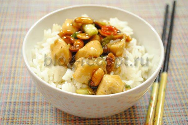 курица с арахисом по-китайски