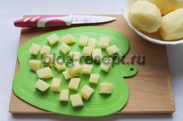 Картофельное пюре с растительным молоком - рецепт пошаговый с фото