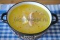 сырный суп с плавленным сыром с курицей рецепт с фото