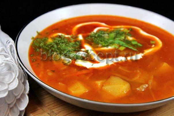 Щи на готовом индоутином бульоне - рецепт пошаговый с фото