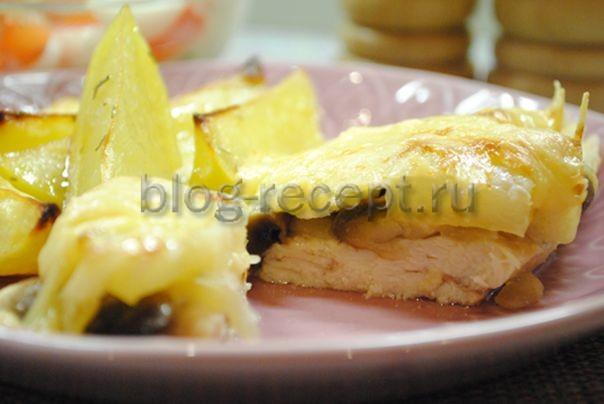 Куриное филе в кляре и сухарях