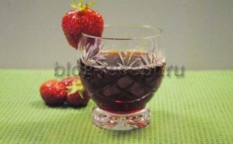 Клубничный сок на зиму