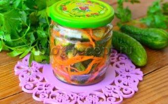 огурцы по корейски на зиму самый вкусный рецепт