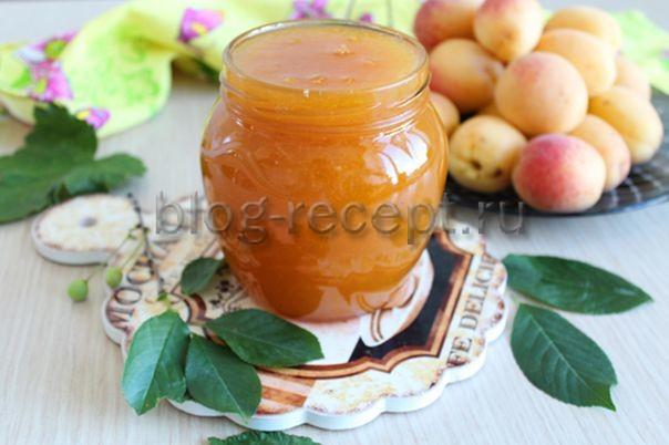 джем из абрикосов без косточек рецепт на зиму густое