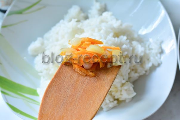 Фаршированный сладкий перец с маринованным луком - рецепт пошаговый с фото