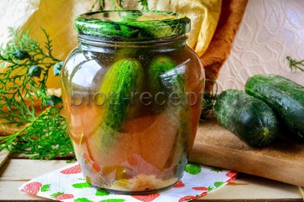 огурцы в томатном соке на зиму обалденный рецепт
