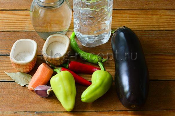 Маринованные баклажаны Фурор - рецепт пошаговый с фото