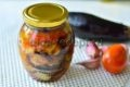 салат десяточка на зиму с баклажанами пошаговый рецепт