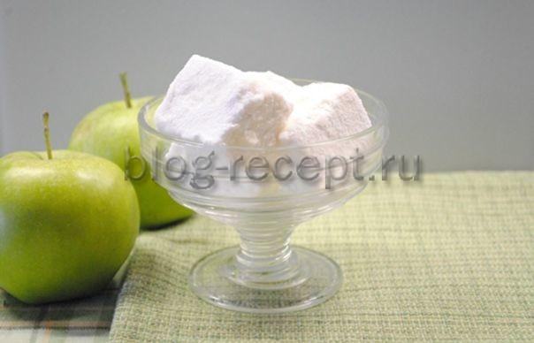 зефир из яблок в домашних условиях простой рецепт