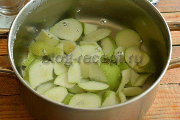 Компот из груш на зиму с лимонной кислотой на 3 литра - рецепт пошаговый с фото