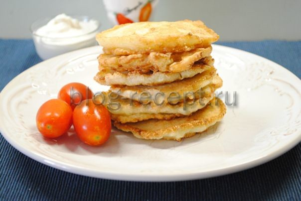 Оладьи из кабачков по-домашнему - рецепт пошаговый с фото