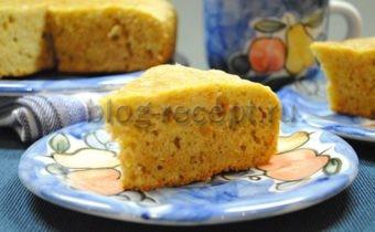 морковный кекс самый простой и вкусный рецепт с фото