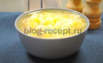 'куриный суп с вермишелью и картошкой рецепт с фото