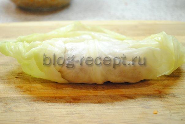 Как готовятся голубцы из капусты с фаршем