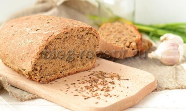 ржаной хлеб в домашних условиях в духовке