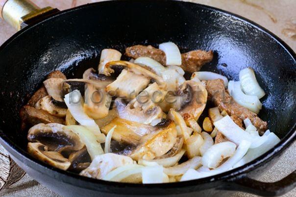 Ароматная гречка по-купечески - рецепт пошаговый с фото