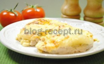 курица с ананасами в духовке рецепт с фото