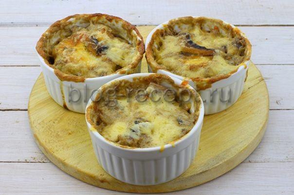 Жульен классический с курицей и грибами - пошаговый рецепт с фото на Повар.ру