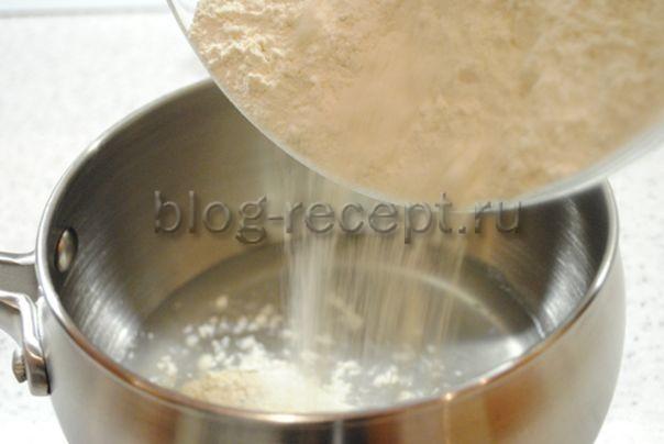 Чебуреки на заварном тесте - рецепт пошаговый с фото