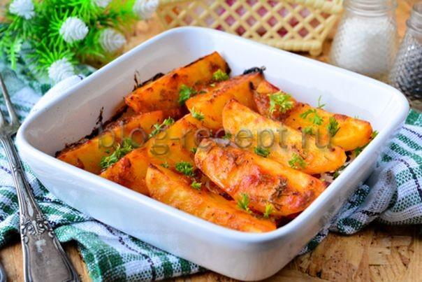 айдахо картофель рецепт в духовке