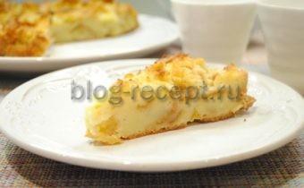 классическая шарлотка с яблоками рецепт