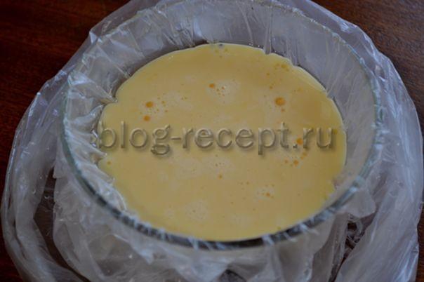 Вареная яичница с пикантной заправкой - рецепт пошаговый с фото