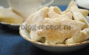 печенье из сметаны и творога рецепт очень вкусное